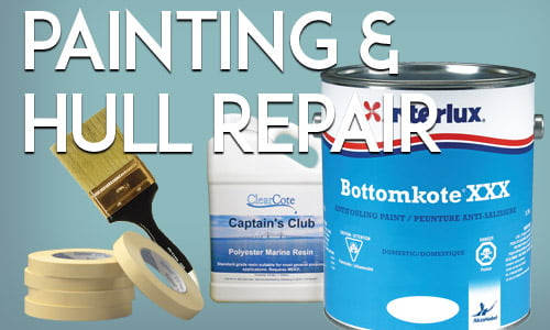 Painting Supplies Section