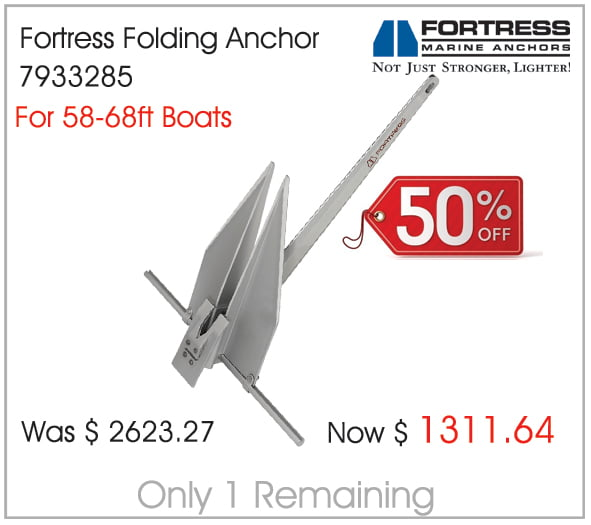 Fortress Folding Anchor